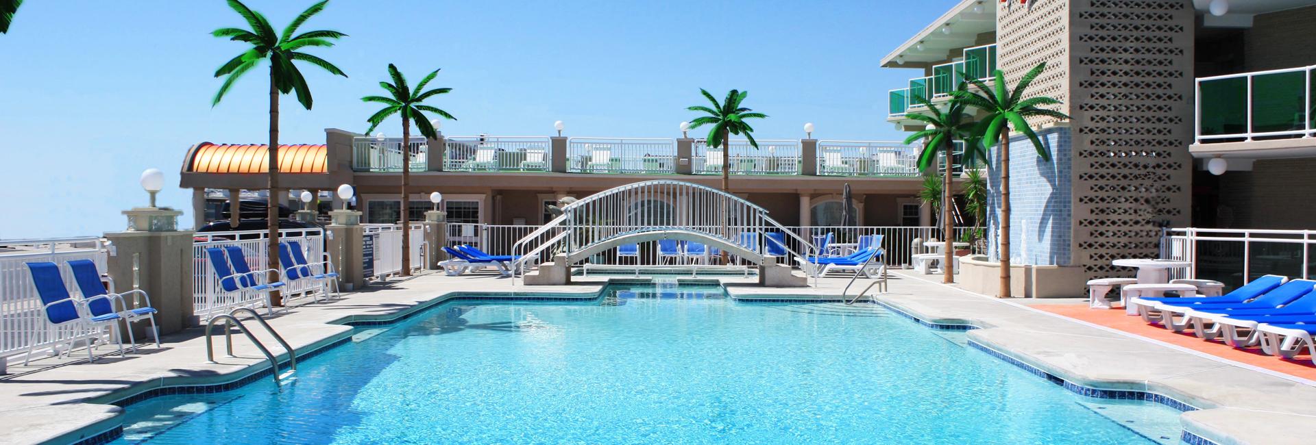 Pan american hotel wildwood crest nj - Unwind In Largest Pool On Island